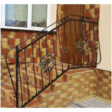 Balkoninis strypelis 20.011 12x12 / H950 x L200 3