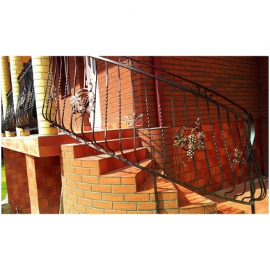 Balkoninis strypelis 20.011 12x12 / H950 x L200 2