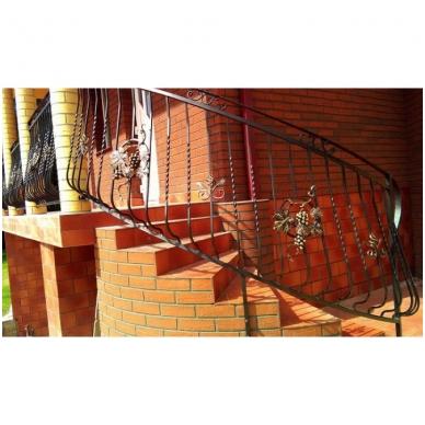 Balkoninis strypelis 20.013 14x14 / H950 x L200 2