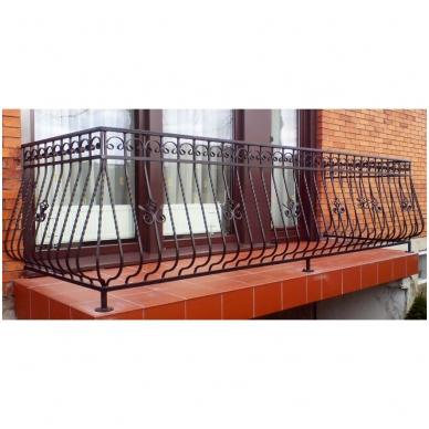 Balkoninis strypelis 20.013 14x14 / H950 x L200 4
