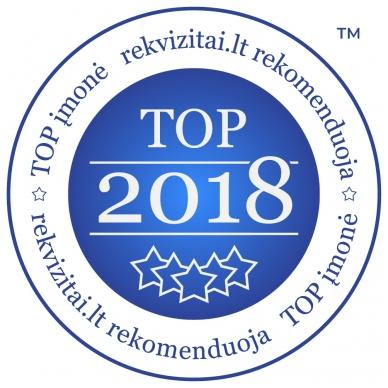 TOP Įmonė 2018